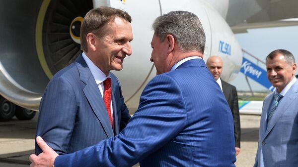 Chủ tịch Duma Quốc gia Nga Sergei Naryshkin ở Crưm - Sputnik Việt Nam