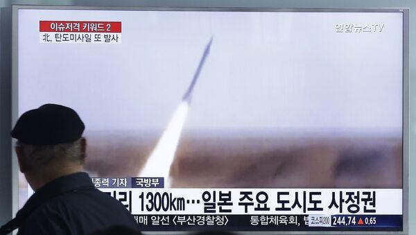 Bắc Triều Tiên phóng tên lửa theo hướng biển Nhật Bản - Sputnik Việt Nam