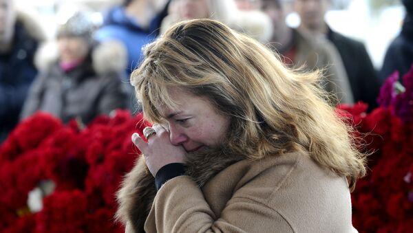 Tưởng nhớ những người thiệt mạng trong vụ tai nạn máy bay chở khách Boeing-737-800 tại Rostov-na-Donu - Sputnik Việt Nam