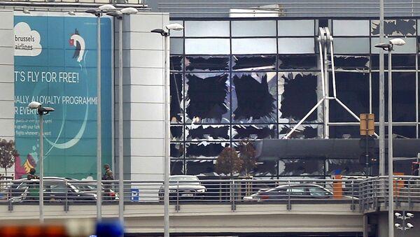 Tình trạng sân bay Brussels sau vụ nổ - Sputnik Việt Nam
