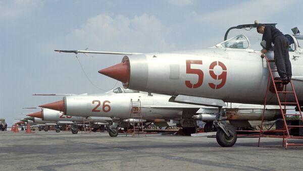 Các tiêm kích cơ MiG-21 - Sputnik Việt Nam
