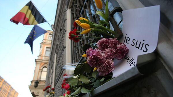 Brussels để tang ba ngày cho các nạn nhân vụ tấn công khủng bố - Sputnik Việt Nam