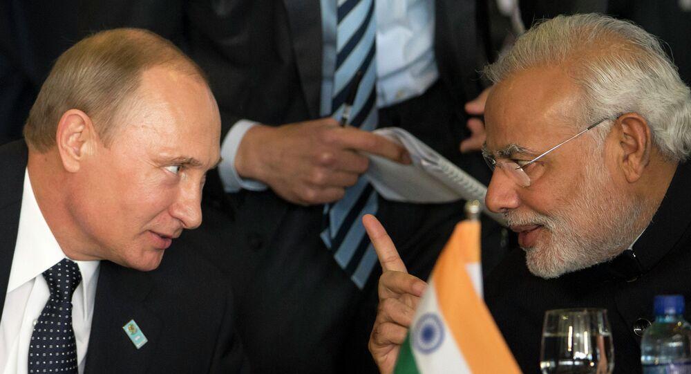 Vladimir Putin, Narendra Modi
