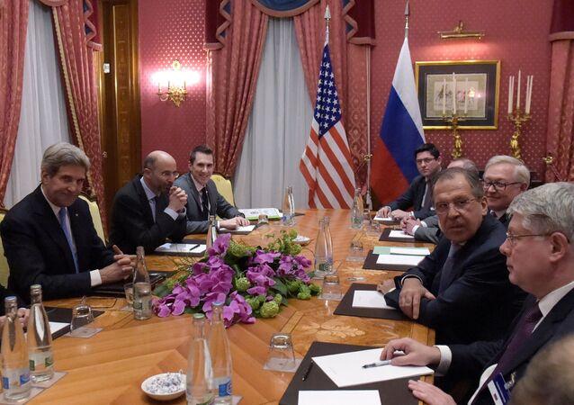 Đàm phán nhóm sáu về chương trình hạt nhân Iran.