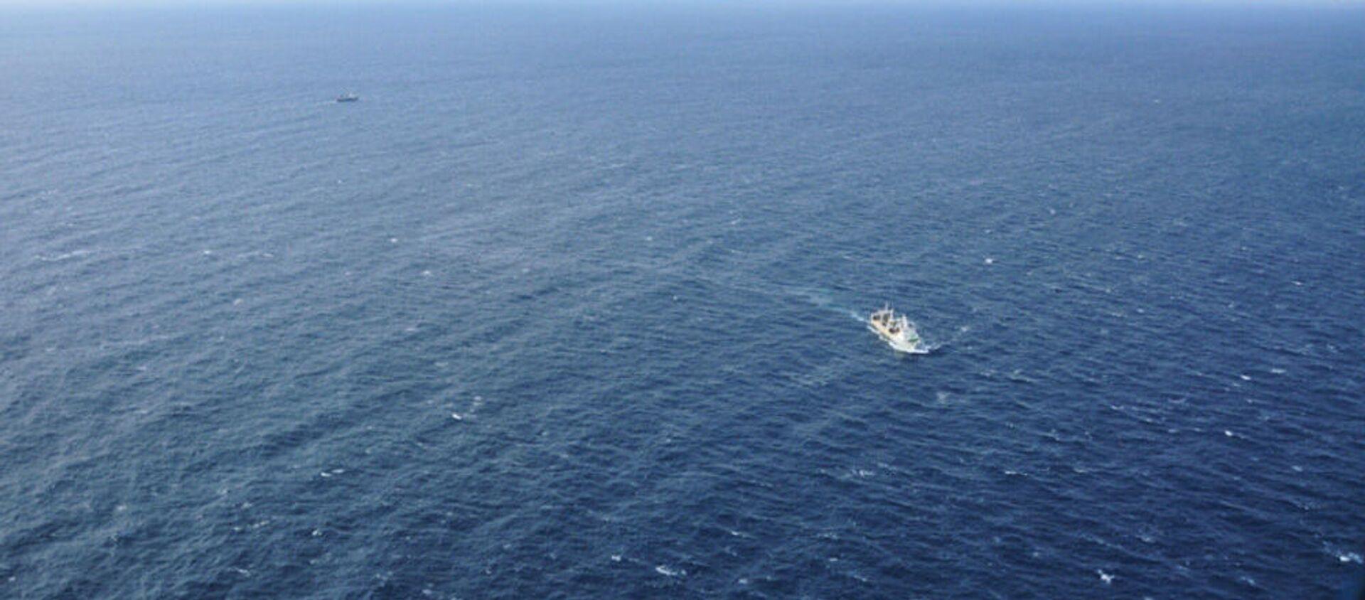 Hoạt động tìm kiếm và cứu nạn tàu đánh cá Viễn Đông ở biển Okhotsk - Sputnik Việt Nam, 1920, 27.05.2021