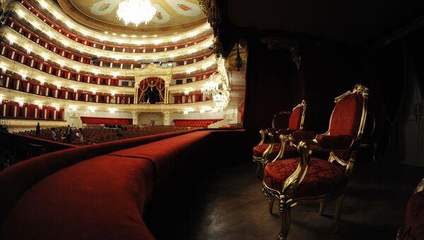 Cảnh lô trong Nhà hát Bolshoi ở Matxcơva - Sputnik Việt Nam