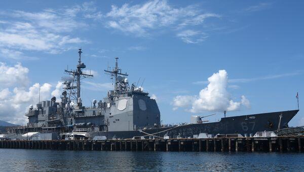 Mỹ bắt đầu triển khai các lực lượng của mình tại Philippines trong khuôn khổ thỏa thuận đạt được giữa hai nước trong năm 2014 - Sputnik Việt Nam