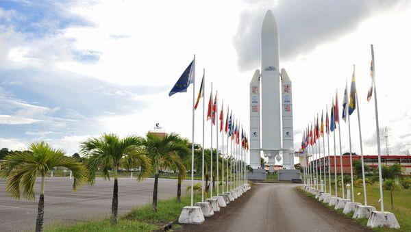 Sân bay vũ trụ Kourou ở Guiana thuộc Pháp - Sputnik Việt Nam