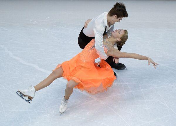 Ivan Bukin và Alexandra Stepanova trong cuộc thi tại Giải vô địch thế giới trượt băng nghệ thuật ở Boston - Sputnik Việt Nam