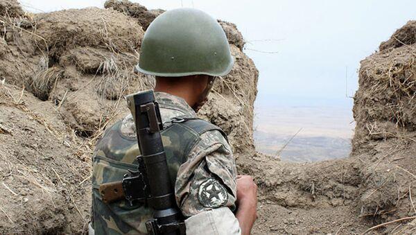 Binh sĩ của Cộng hòa không được công nhận Nagorno-Karabakh - Sputnik Việt Nam