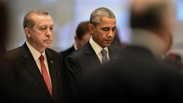 Recep Tayyip Erdogan và Barack Obama - Sputnik Việt Nam