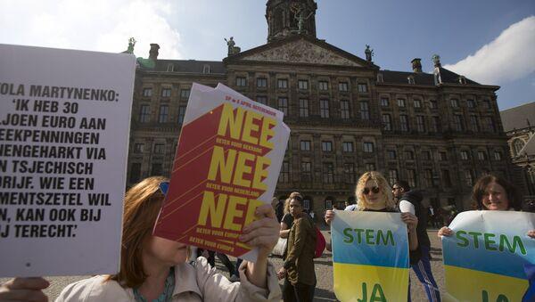 Hà Lan bắt đầu biểu quyết về việc tiếp nhận Ukraine vào EU - Sputnik Việt Nam