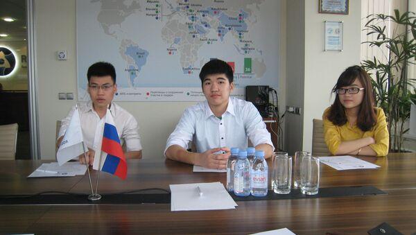 Сác chuyên gia Việt Nam dành cho công việc tại nhà máy điện hạt nhân đang được đào tạo tại  MiFi – Đại học  Quốc gia  Nghiên cứu hạt nhân của Nga. - Sputnik Việt Nam