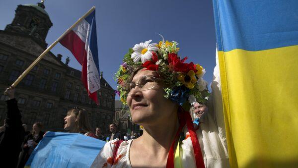 Cuộc trưng cầu tham vấn về thỏa thuận liên kết giữa EU và Ukraine - Sputnik Việt Nam