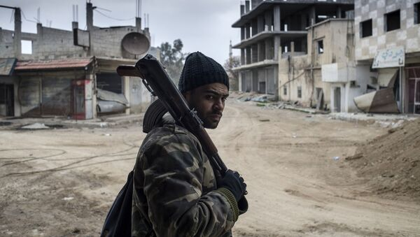 người lính Syria - Sputnik Việt Nam