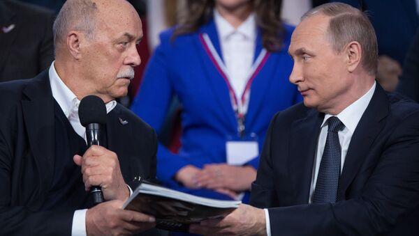 Vladimir Putin, Stanislav Govorukhin - Sputnik Việt Nam