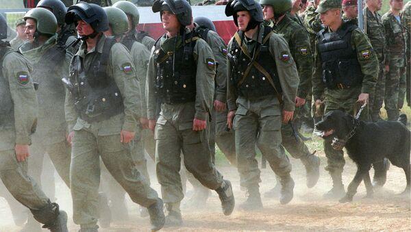 Lực lượng Nội vụ thuộc Bộ Nội vụ Nga - Sputnik Việt Nam