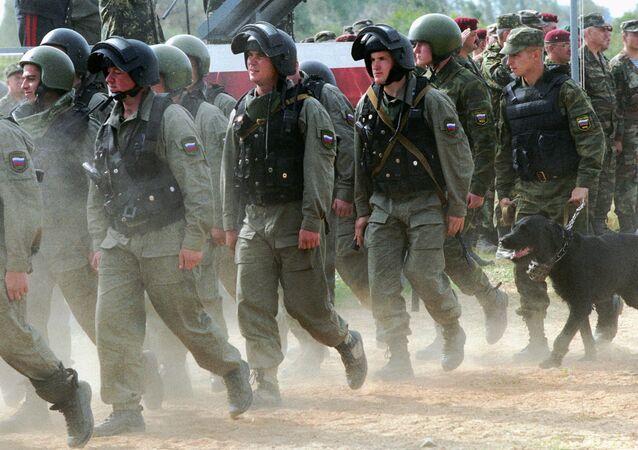 Lực lượng Nội vụ thuộc Bộ Nội vụ Nga