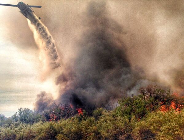 Dập đám cháy ở Arizona - Sputnik Việt Nam
