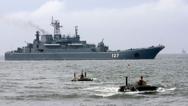 con tàu đổ bộ Minsk - Sputnik Việt Nam