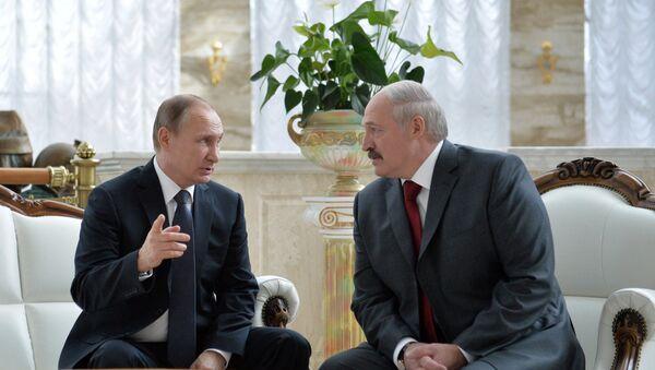 Vladimir Putin và Alexander Lukashenko - Sputnik Việt Nam