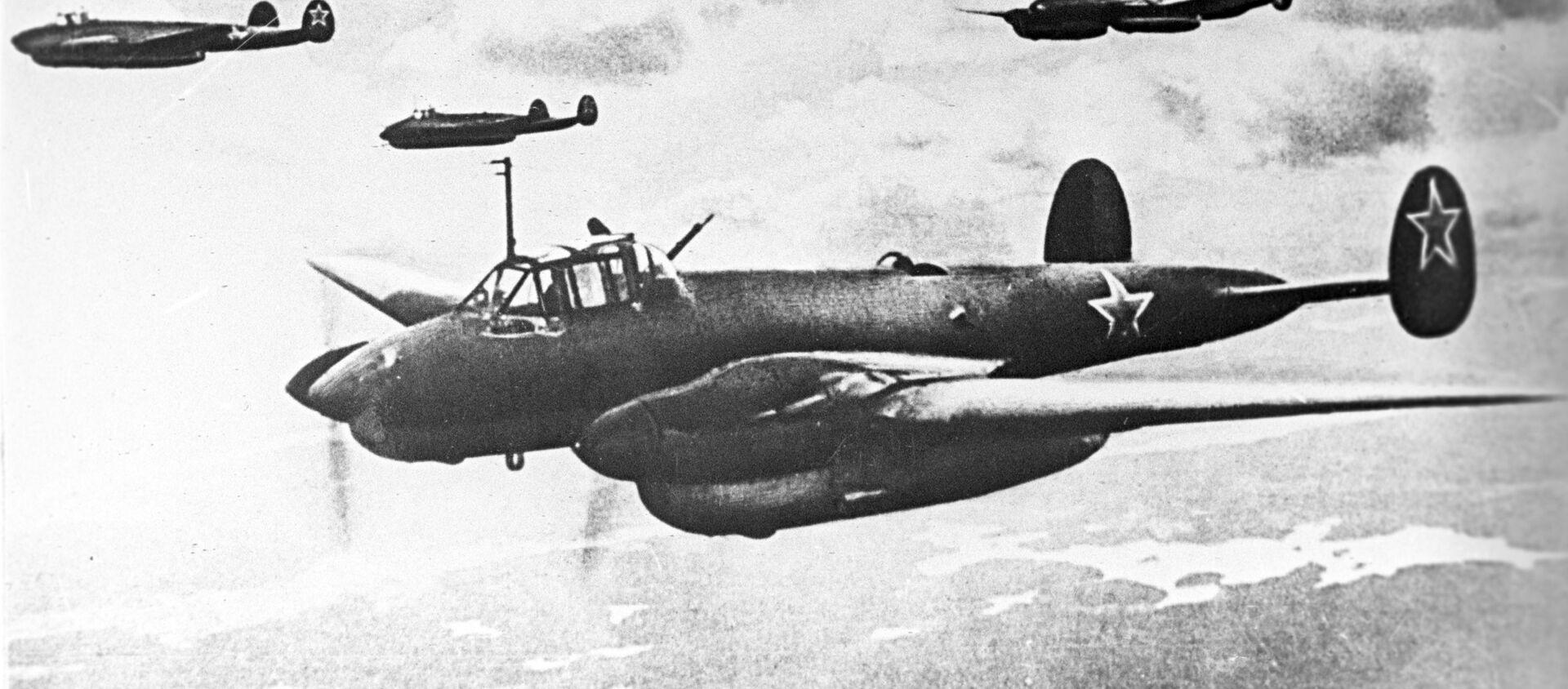 Pe-2 - Sputnik Việt Nam, 1920, 06.08.2019