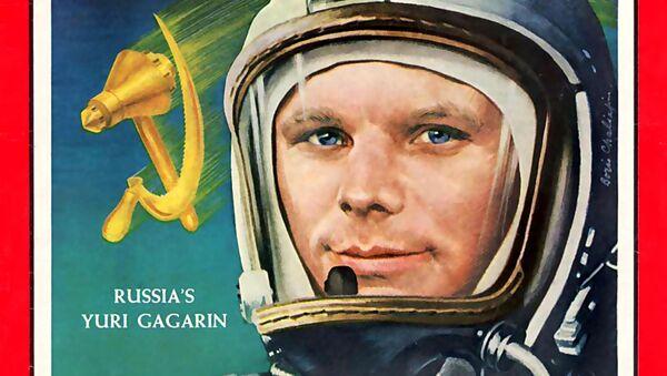 Yuri Gagarin, Time Magazine,  1961 - Sputnik Việt Nam