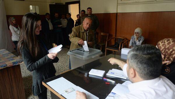 Bầu cử nghị viện ở Syria - Sputnik Việt Nam