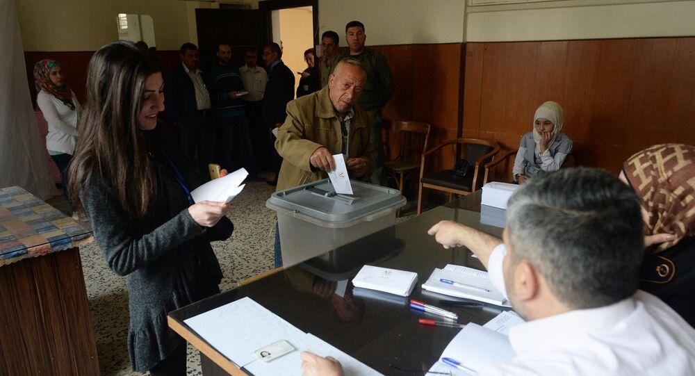 Bầu cử nghị viện ở Syria