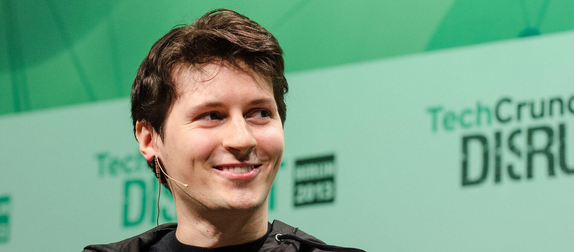 Pavel Durov - Sputnik Việt Nam, 1920, 06.09.2021
