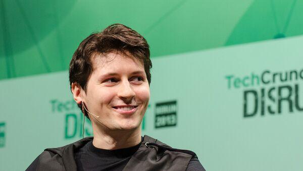 Pavel Durov - Sputnik Việt Nam