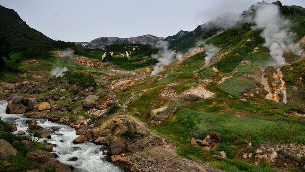 Thung lũng Geysers trong Khu bảo tồn thiên nhiên Kronotsky - Sputnik Việt Nam