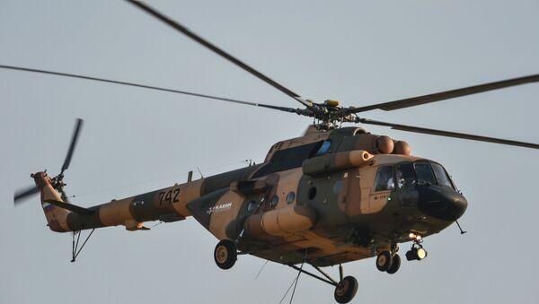 máy bay trực thăng Mi-17V5 của Nga - Sputnik Việt Nam