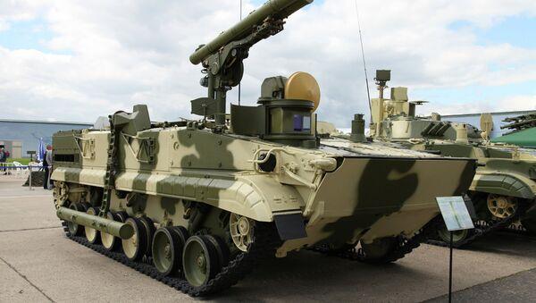 Hệ thống tên lửa chống tăng Khrizantema-S - Sputnik Việt Nam