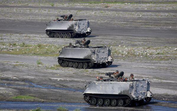Binh sĩ Mỹ và Philippines trong cuộc tập trận quy mô, -Capas, Philippines - Sputnik Việt Nam