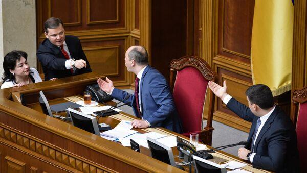 Quốc hội Ukraina - Sputnik Việt Nam