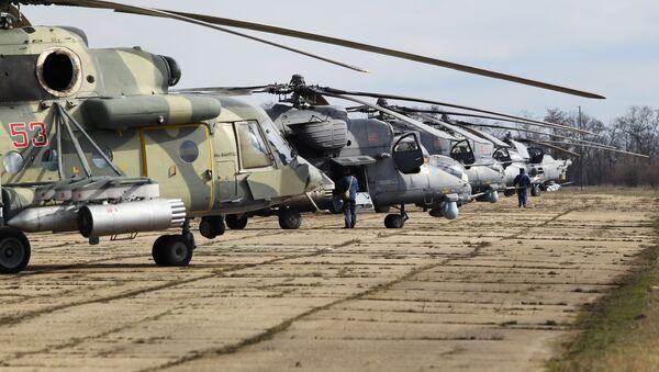 Mi-35M, Mi-28N, Mi-8AMTSH - Sputnik Việt Nam