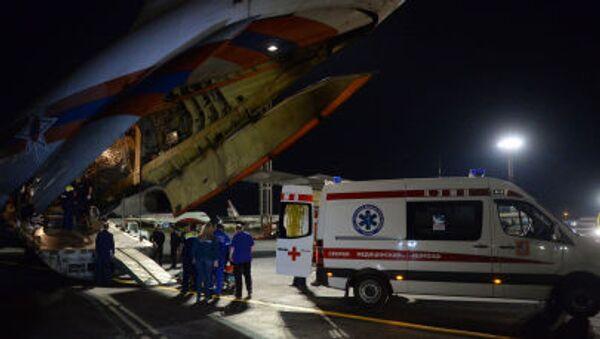 Moskva đón các bệnh nhi từ Donbass tới điều trị y tế - Sputnik Việt Nam