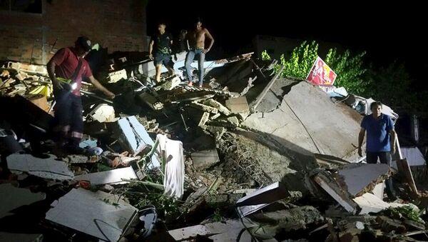 Động đất ở Ecuador - Sputnik Việt Nam