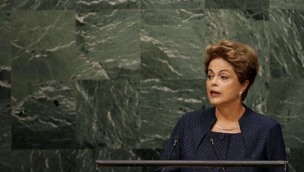 Dilma Rousseff, tổng thống Brazil - Sputnik Việt Nam