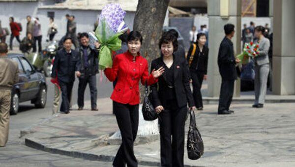 Phụ nữ Bắc Triều Tiên - Sputnik Việt Nam