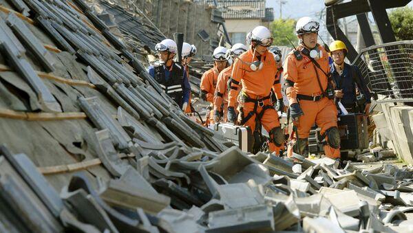 Động đất ở Nhật Bản - Sputnik Việt Nam