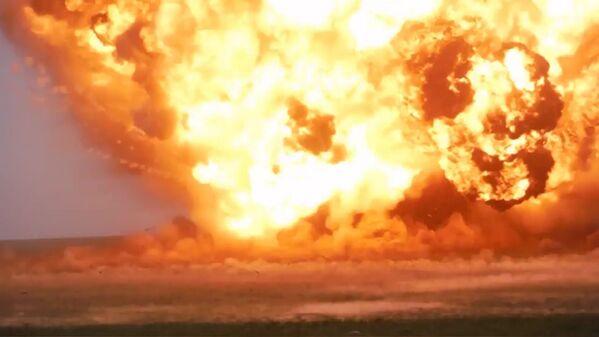 Tại địa bàn phóng tên lửa từ tổ hợp Iskander-M, Kapustin Yar, tỉnh Astrakhan - Sputnik Việt Nam
