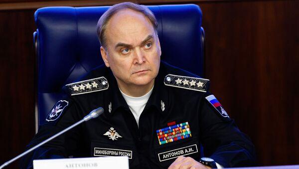 Thứ trưởng Bộ Quốc phòng Nga Anatoly Antonov - Sputnik Việt Nam