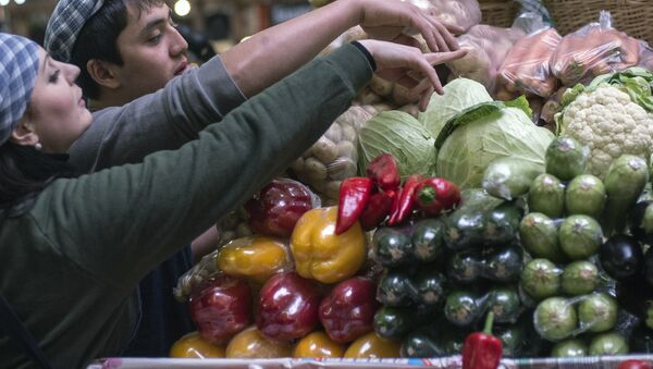 chợ tại Matxcơva - Sputnik Việt Nam