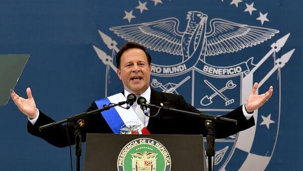 Tổng thống Panama Juan Carlos Varela - Sputnik Việt Nam