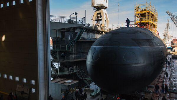 Tàu ngầm diesel Nga đề án 636 - Sputnik Việt Nam
