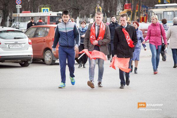 Những người cộng sản kỷ niệm ngày sinh của Lenin tại thành phố Vladimir - Sputnik Việt Nam