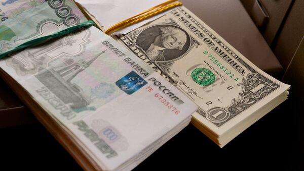 đồng đô la và đồng rúp - Sputnik Việt Nam