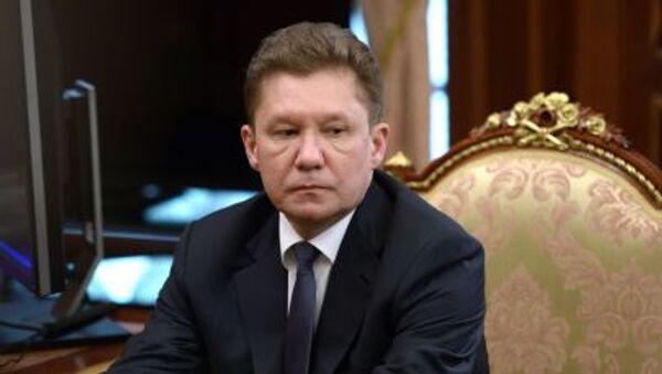 Người đứng đầu Gazprom Alexey Miller - Sputnik Việt Nam